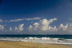 Cabarete海滩,多米尼加共和国 免版税图库摄影