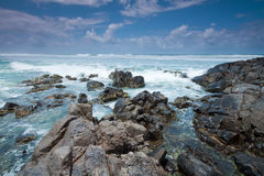 Cabarita beach in australia during the day Royalty Free Stock Images