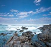 Cabarita Strand in Australien während des Tages Stockfotos