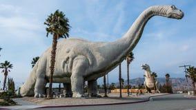 Cabazon恐龙1 免版税库存照片
