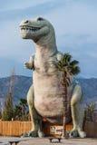 Cabazon Dinosaur Tyrannosaurus Rex Stock Image