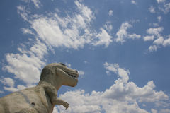 Cabazon Dinosaurs. Roadside attraction near Palm Springs, CA Stock Images