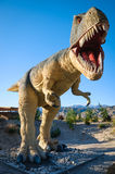 Cabazon Dinosaurs. T-Rex Historic Fun Stock Image