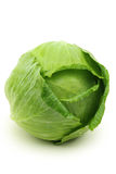 Cabbage. Green cabbage isolated on white background Stock Photography