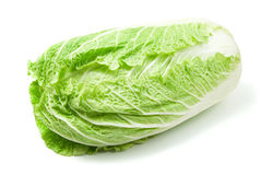 Cabbage. Isolated on white background stock images