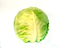 Cabbage. Isolated on white background Royalty Free Stock Images