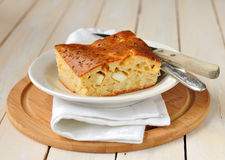 Cabbage and Boiled Egg Filled Pie Royalty Free Stock Photos