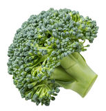 Cabbage broccoli isolated on white background. With clipping path Royalty Free Stock Photography