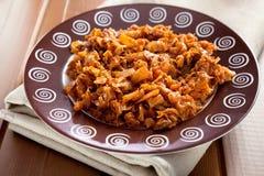 Cabbage casserole Stock Photo