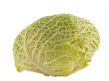 Cabbage close up. A close up on fresh green Cabbage Royalty Free Stock Images