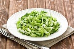 Cabbage cucumber salad Royalty Free Stock Photos