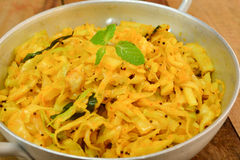 Cabbage curry Stock Image