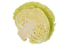 Cabbage is in a cut Royalty Free Stock Image