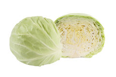 Cabbage cut Royalty Free Stock Photography