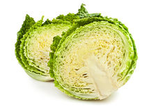Cabbage cut Royalty Free Stock Images