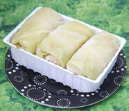 Cabbage filled with meat Royalty Free Stock Image