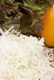 Cabbage finely Royalty Free Stock Photography