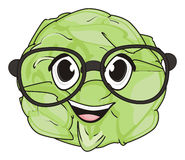 Cabbage in glasses Stock Photography