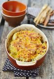 Cabbage gratin Stock Photo