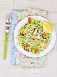Cabbage and green pea salad Royalty Free Stock Photography