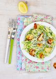 Cabbage and green pea salad Royalty Free Stock Photo