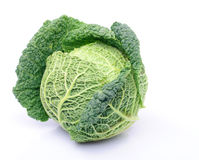 Cabbage isoalated Stock Images