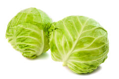 Cabbage Isolated Royalty Free Stock Photos