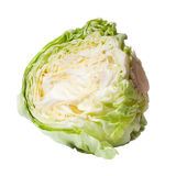 Cabbage isolated on white Royalty Free Stock Photos