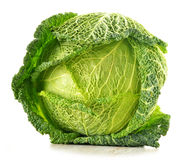 Cabbage isolated on white Stock Image
