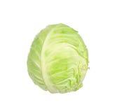 Cabbage isolated on white. Background Royalty Free Stock Image