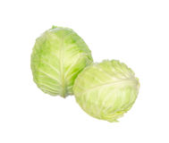 Cabbage isolated on white Stock Photography