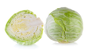 Cabbage isolated Royalty Free Stock Image