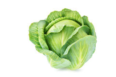Cabbage isolated on white background Stock Image