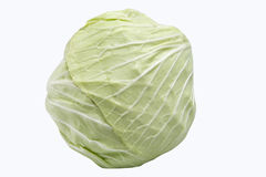 Cabbage isolated on white Stock Image