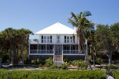 Cabbage Key Home B Royalty Free Stock Images