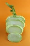 Cabbage kohlrabi Stock Images