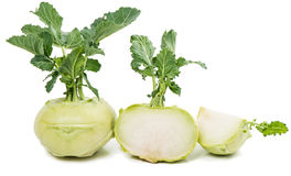 Cabbage kohlrabi Royalty Free Stock Images