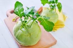 Cabbage kohlrabi Royalty Free Stock Photo