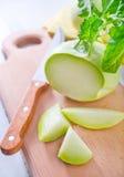Cabbage kohlrabi Stock Photos