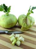 Cabbage kohlrabi Stock Photo