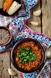 Cabbage Lentil stew Royalty Free Stock Photography