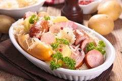 Cabbage with meat Stock Photo