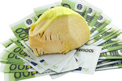 Cabbage on the money Stock Photos