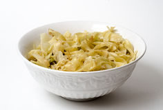 Cabbage and noodles Stock Photography