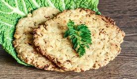 Cabbage pancake Royalty Free Stock Image