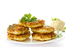 Cabbage Pancakes Royalty Free Stock Photos