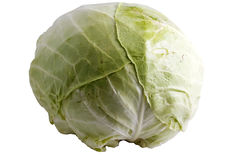 Cabbage (path included) Royalty Free Stock Images