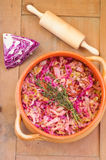 Cabbage pie Royalty Free Stock Images