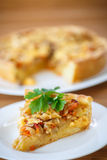 Cabbage pie Royalty Free Stock Photo