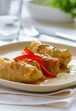 Cabbage rolls Stock Image